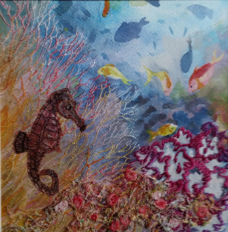Ann Dunbar - Pot Bellied Sea horse