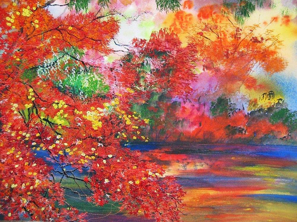 Ann Dunbar - Autumn Aflame