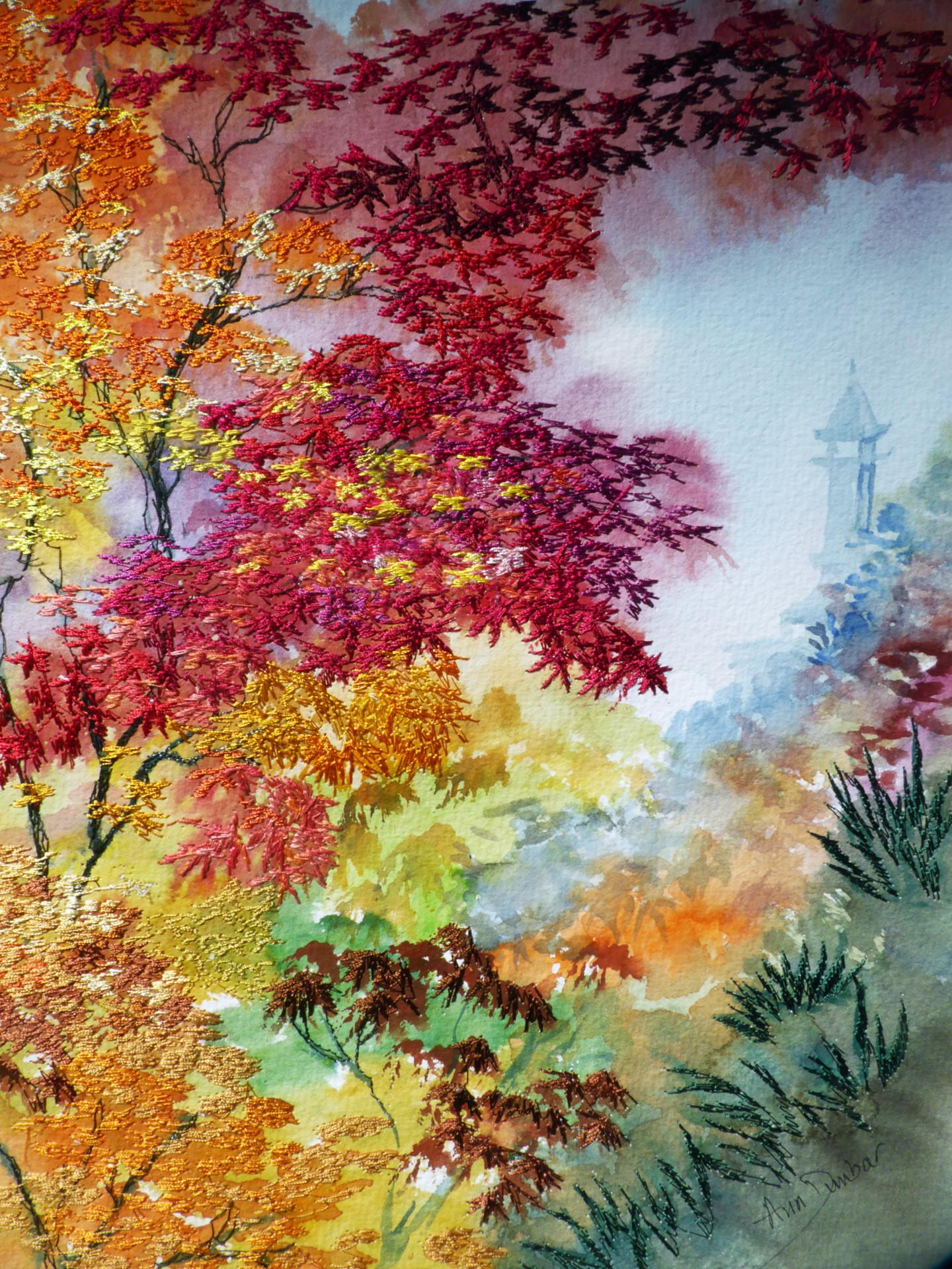 Ann Dunbar - Crimson and Gold Maples