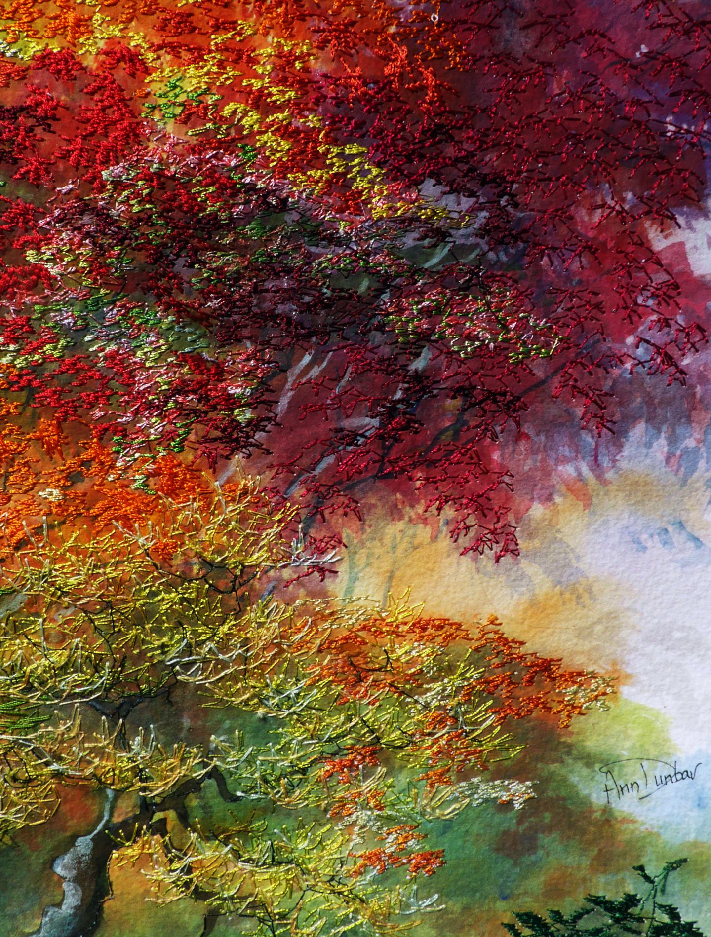 Ann Dunbar - Fiery Foliage