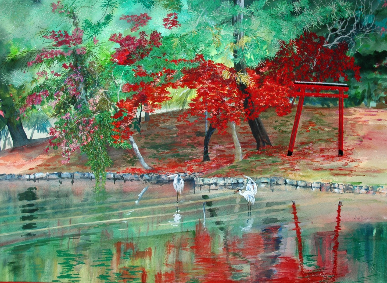 Ann Dunbar - Bathing in the shade