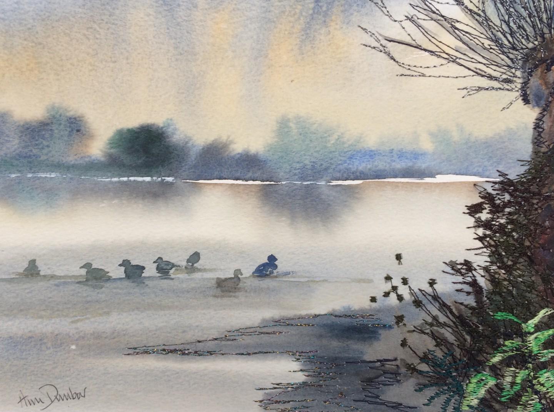 Ann Dunbar - Gather together and swim at sunrise