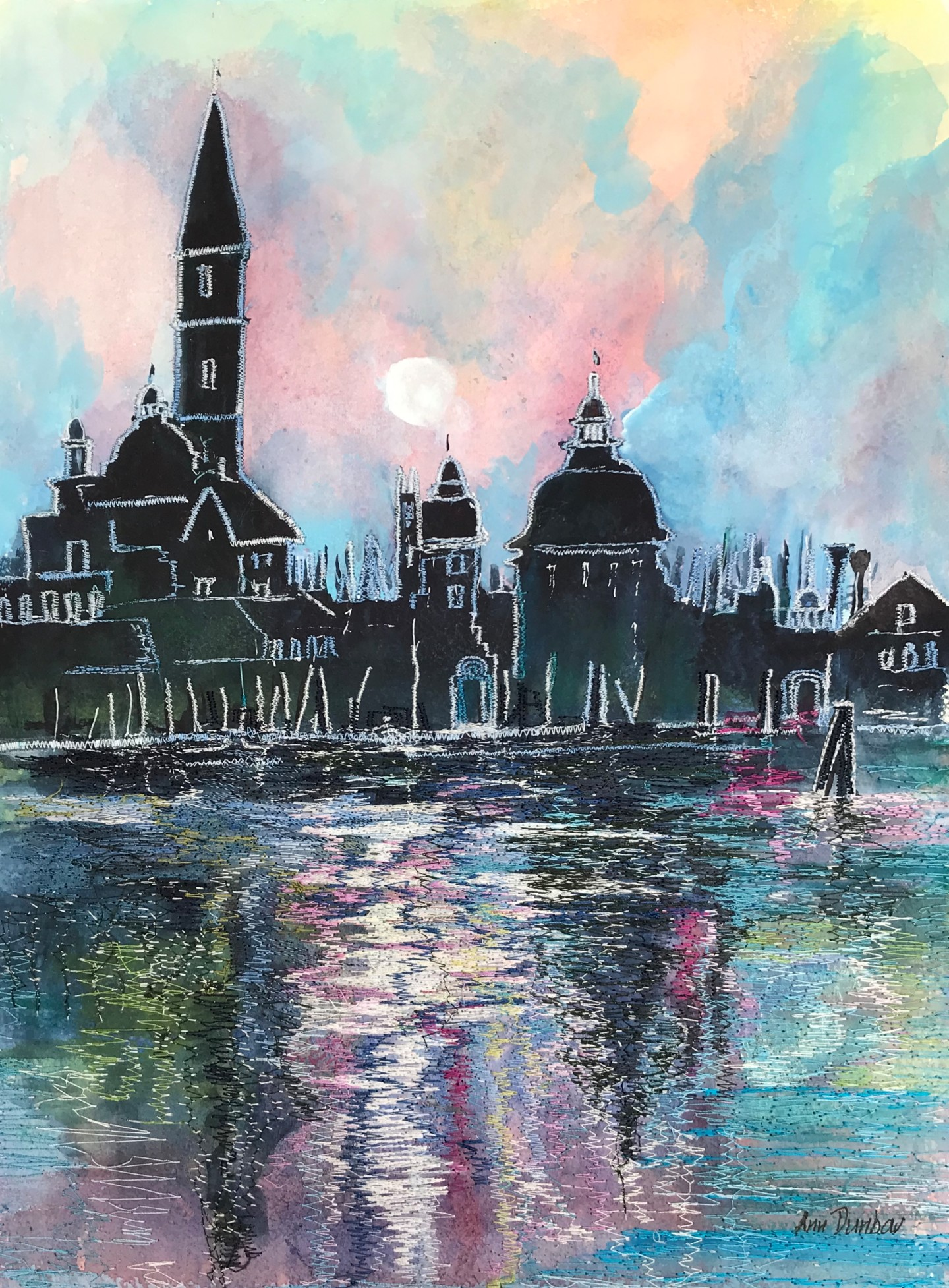 Ann Dunbar - Moonlight 2 at St Gorgio