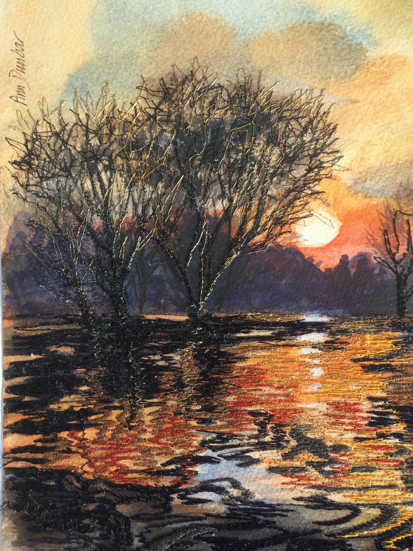 Ann Dunbar - Versailles sunset