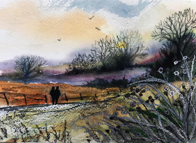 Ann Dunbar - A Walk into the winter twilight