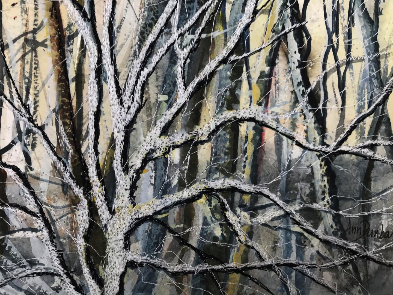 Ann Dunbar - Laden with snow