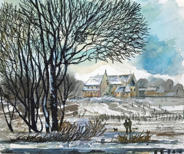Ann Dunbar - Winter walk at the Basilica