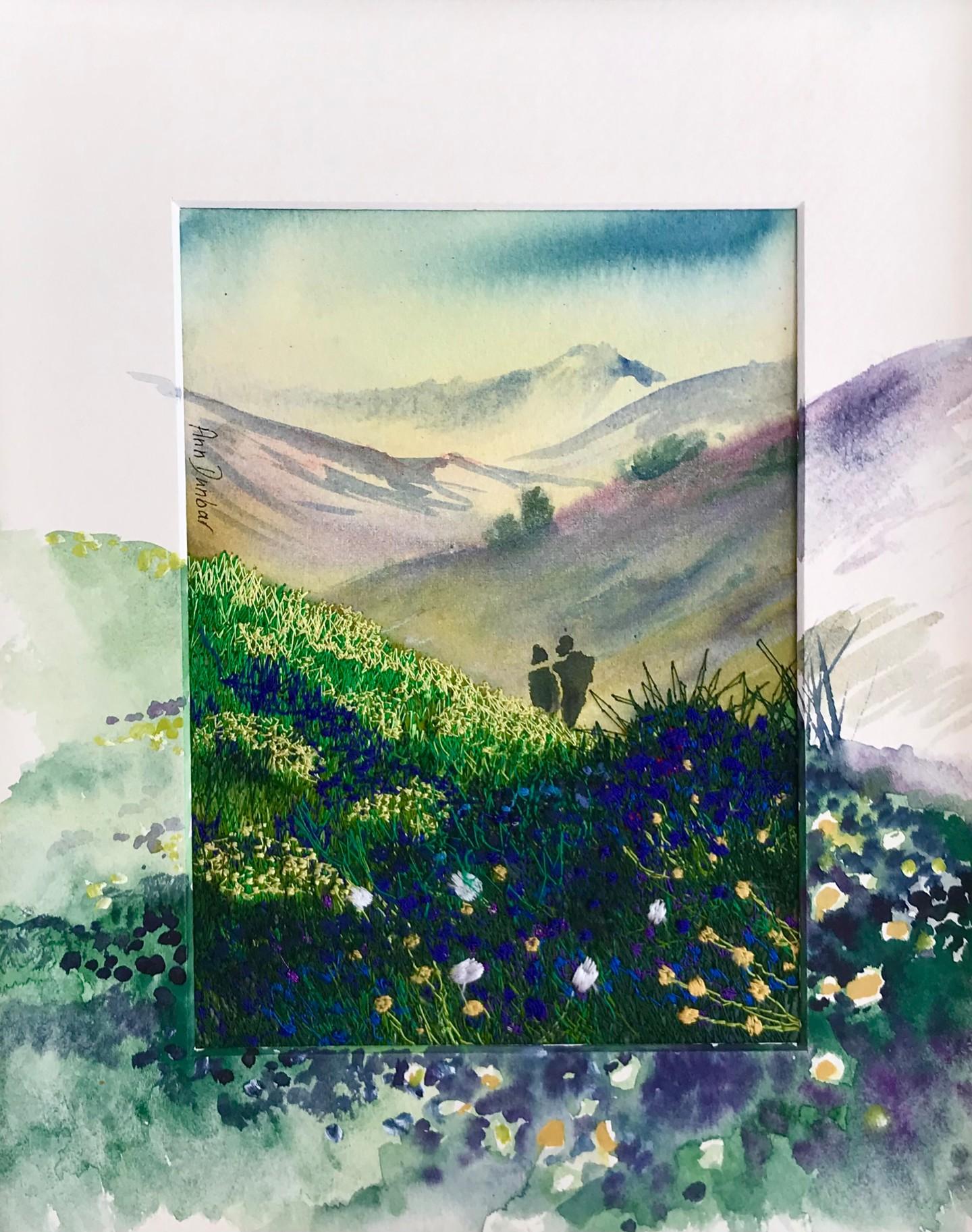 Ann Dunbar - A walk in the hills