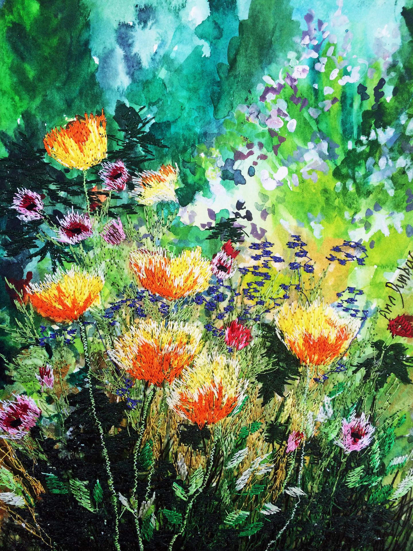 Ann Dunbar - Californian Poppies
