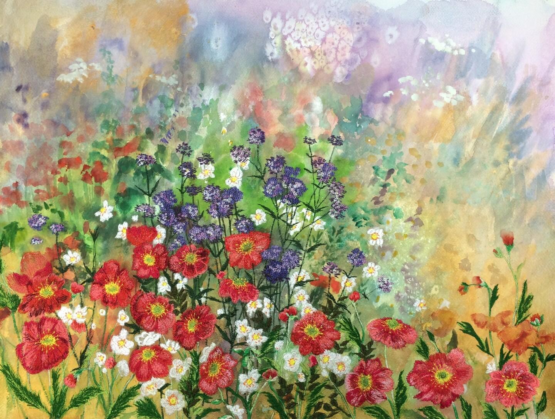 Ann Dunbar - Sublime herbaceous summer border