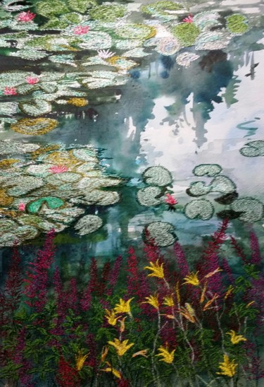 Painting, watercolor, impressionism, artwork by Ann Dunbar